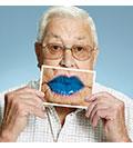Blue Lip Selfie Campaign
