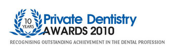 Private Dentistry Awards Nomination 2010