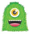 grren monseter